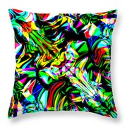 Ixbis Throw Pillow