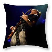 J D Rooney Of Rascal Flatts Throw Pillow