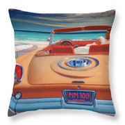 J F K And M M Throw Pillow