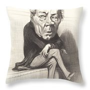 J. Marie Joseph Deville Throw Pillow