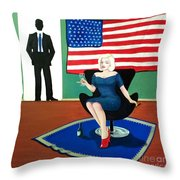 Jack And Marilyn Throw Pillow