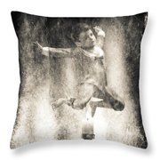 Jack Be Quick Throw Pillow