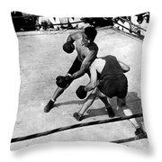 Jack Dempsey Throw Pillow
