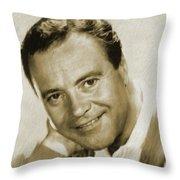 Jack Lemmon, Actor Throw Pillow