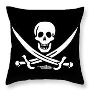 Jack Rackham Throw Pillow