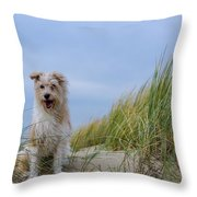 Jack Russel Lotje Throw Pillow