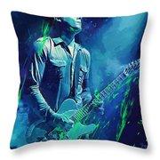 Jack White Throw Pillow