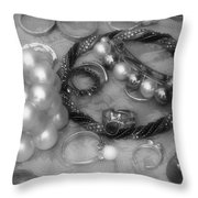 Jackdaw's Hoard Throw Pillow