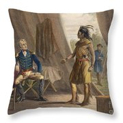 Jackson & Weatherford Throw Pillow