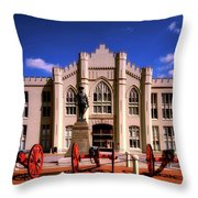 Jackson Arch - V M I Throw Pillow