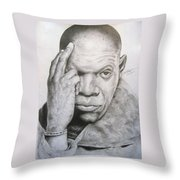 Jackson By Kyle Anderson Throw Pillow