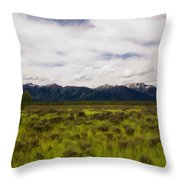 Jackson Hole Throw Pillow