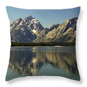 Jackson Lake 2 Throw Pillow
