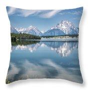 Jackson Lake 80 Throw Pillow