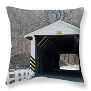 Jackson Mills Throw Pillow