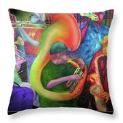 Jackson Square New Orleans Throw Pillow