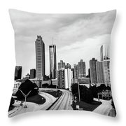 Atl  Throw Pillow