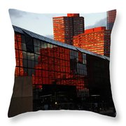 Jacob Javits Reflections Throw Pillow