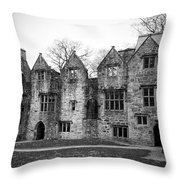 Jacobean Wing At Donegal Castle Ireland Throw Pillow