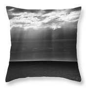Jacobs Ladder At Dawn Throw Pillow