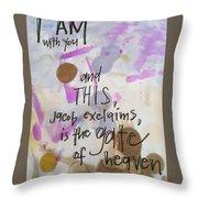 Jacob's Proclamation Throw Pillow