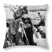 Jacqueline Bouvier Kennedy Throw Pillow