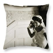 Jacqueline Kennedy Throw Pillow