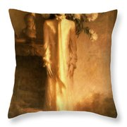 Jacqueline Lee Bouvier Kennedy Throw Pillow