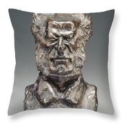 Jacques-antoine-adrien, Baron Delort Throw Pillow