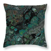 Jaded Throw Pillow