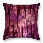 Jagged Edges Throw Pillow
