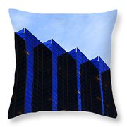 Jagged Sky Scraper Throw Pillow