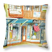 Jaggers Throw Pillow