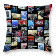 Jaguar Car Art -01 Throw Pillow