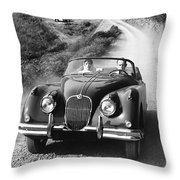 Jaguar Xk 150 Drophead Coupe Throw Pillow