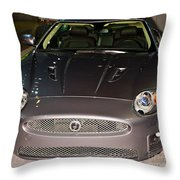 Jaguar Xk No 1 Throw Pillow