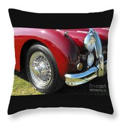 Jaguar Xk Series Throw Pillow