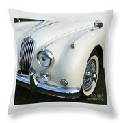Jaguar Xk150 Throw Pillow