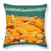 Jagung Throw Pillow
