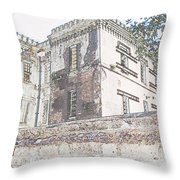 Jail Throw Pillow