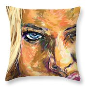 Jaime Pressly Throw Pillow