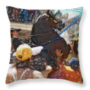 Jaleo Throw Pillow