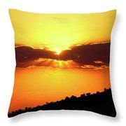 Jalisco Sunset Throw Pillow