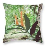 Jamaican River Throw Pillow