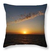 Jamaican Sunset Throw Pillow