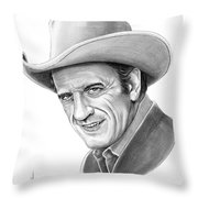 James Arnes Throw Pillow by Murphy Elliott