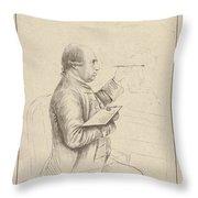 James Bretherton Throw Pillow