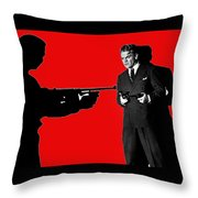 James Cagney As Gangster  Rocky Sullivan In Angels With Dirty Faces 1938-2008 Throw Pillow