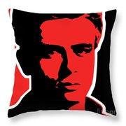 James Dean 009 Throw Pillow