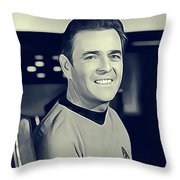 James Doohan, Scotty Throw Pillow
